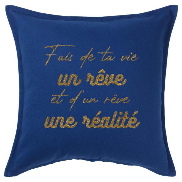 coussin-bleu-fonce-pas-cher-50x50cm-personnalise-normandie-fabrication-francaise-or
