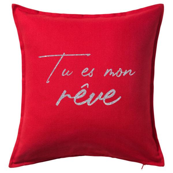 coussin-rouge-pas-cher-50x50cm-personnalise-normandie-fabrication-francaise-multilumiere