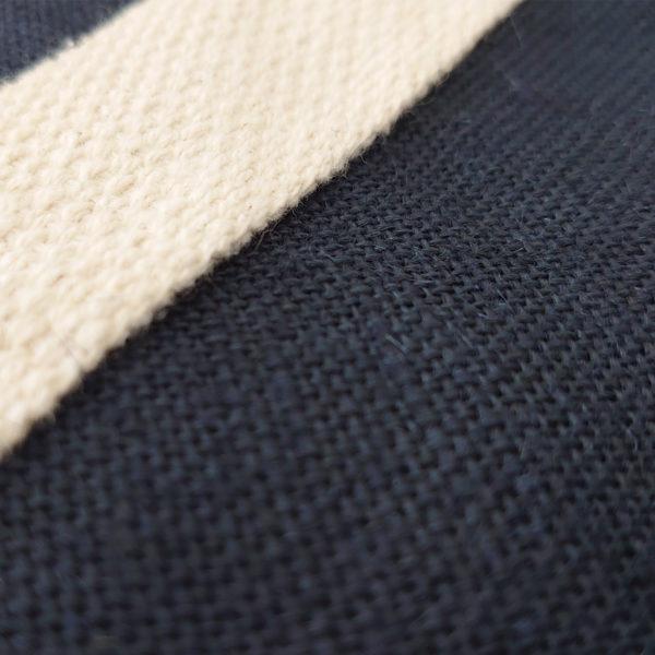 tote-bag-bleu-qualite-jute-naturel-cabas-14L-texte-personnalisable-marquage-couleur-paillette-onely-matiere