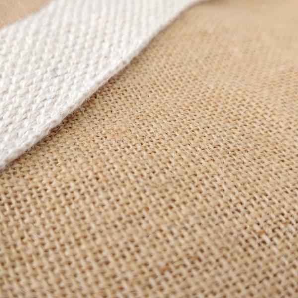 tote-bag-qualite-jute-naturel-cabas-14L-texte-personnalisable-marquage-couleur-paillette-onely-matiere