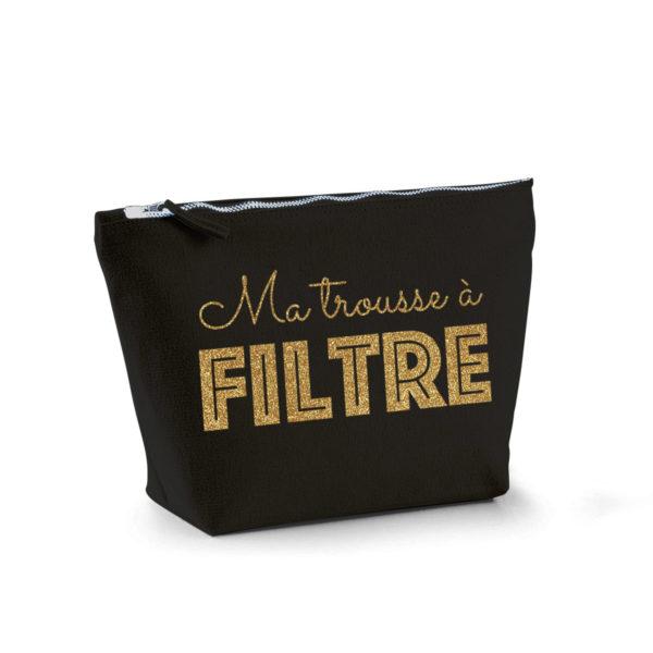 trousse-maquillage-noire-texte-personnalisable-coton-zip-metal-vintage-marquage-or-paillettes