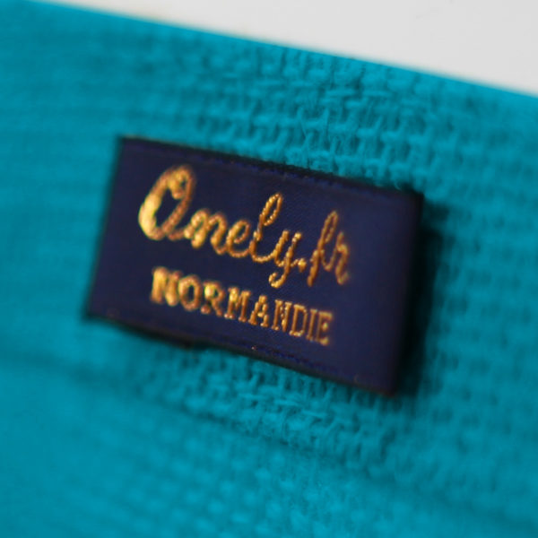 sac-bleu-turquoise-jute-cabas-23L-texte-personnalisable-marquage-couleur-paillette-onely-signature